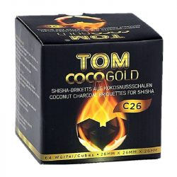 Tom Cococha Gold vízipipa szén - 1 kg
