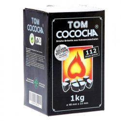 Tom Cococha Silver vízipipa szén - 1 kg.