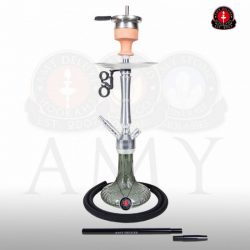 Amy Deluxe 068.02 Alu Luna S vízipipa - Black