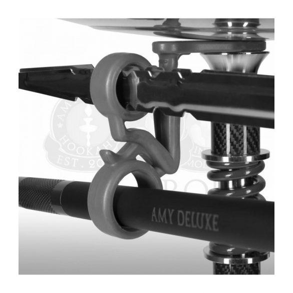 Amy Deluxe Carbonica Gear S vízipipa - Black