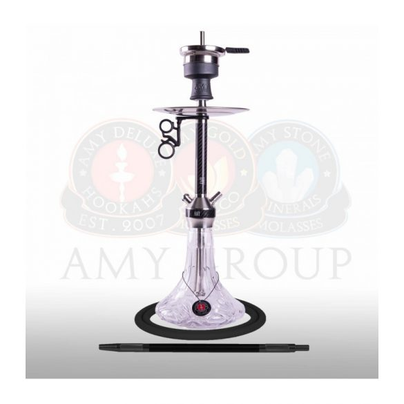 Amy Deluxe SS31.02 Carbonica Lucid S vízipipa - Clear