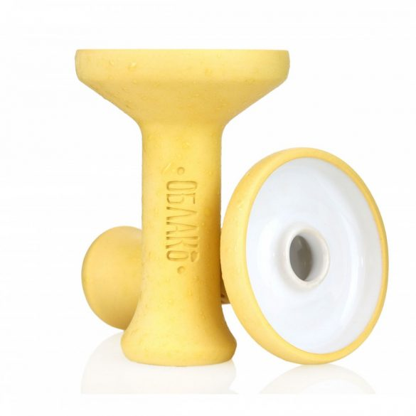 Oblako Phunnel L dohánytölcsér - Mono Glazed Yellow