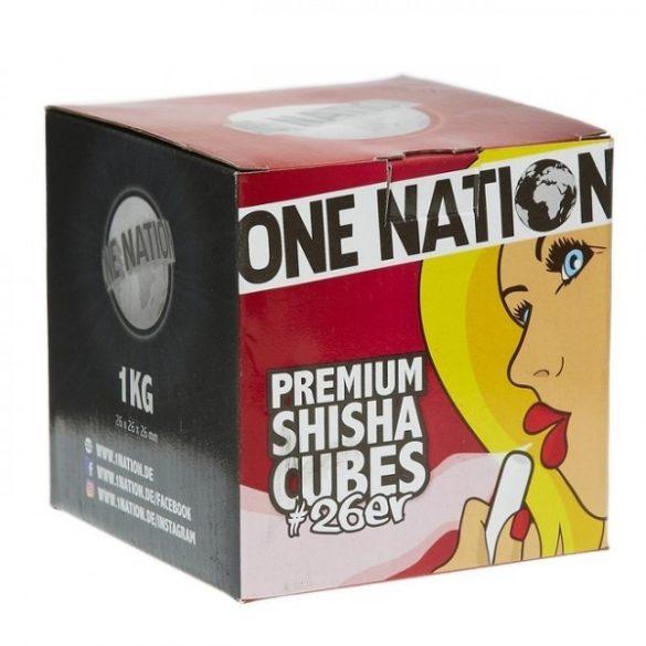 One Nation vízipipa szén - 1 kg