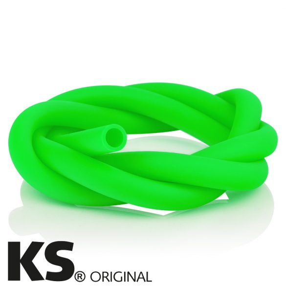 KS szilikon cső - Neonzöld