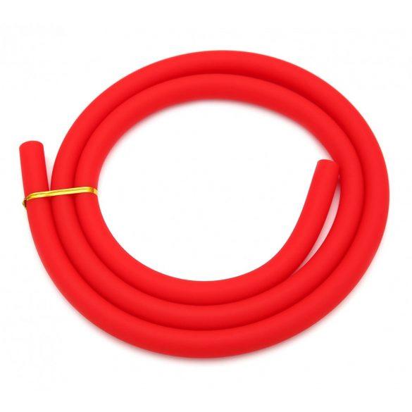 AO Soft-Touch szilikon cső - Piros