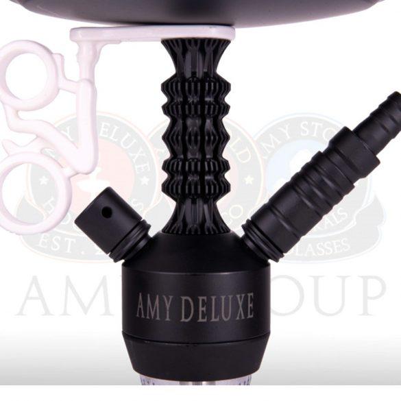 Amy Deluxe 072.03 Antique Berry Mini vízipipa - Clear