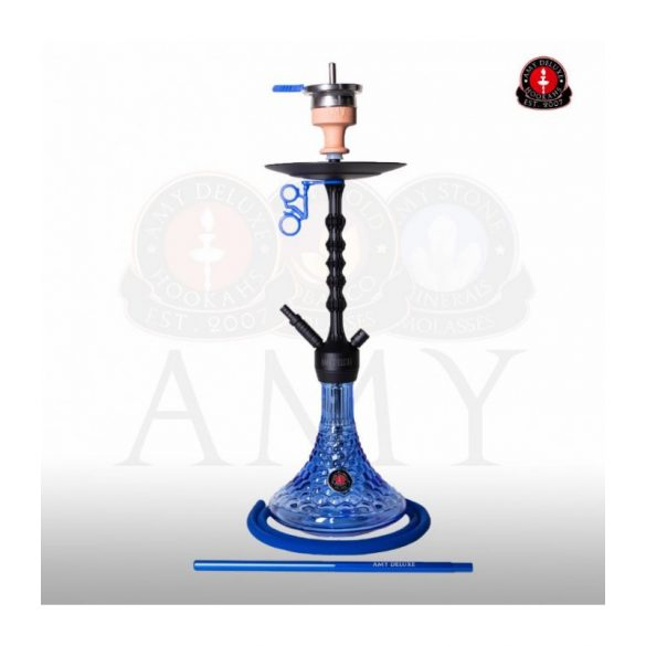 Amy Deluxe 072.01 Antique Berry vízipipa - Blue