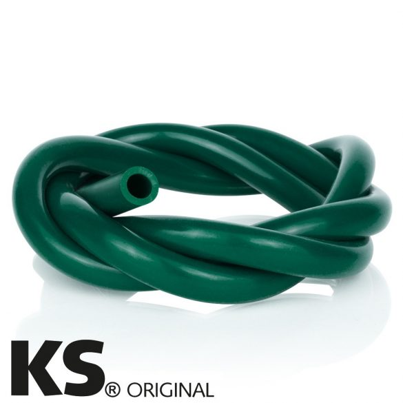 KS szilikon cső - Zöld