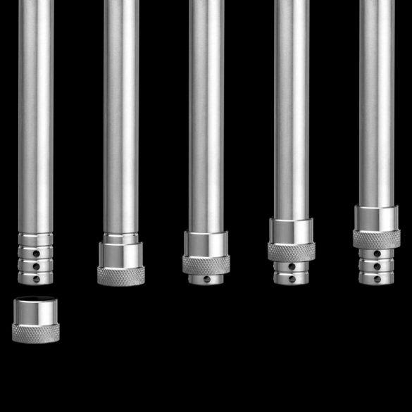 Aladin Alux Model 3 vízipipa - Ezüst