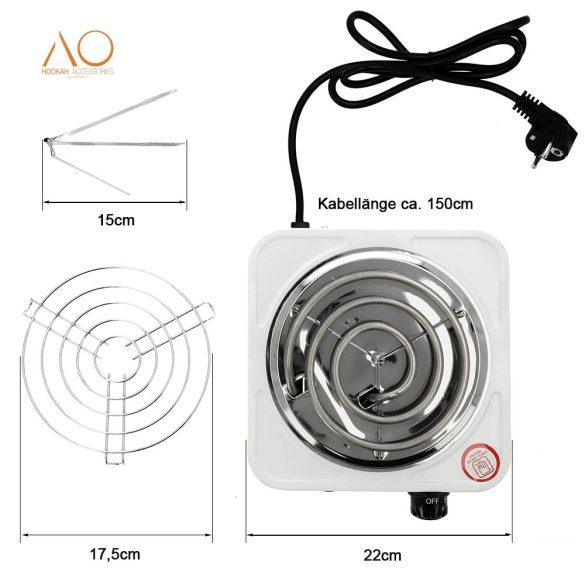 AO Blazer elektromos szénizzító - 1000W