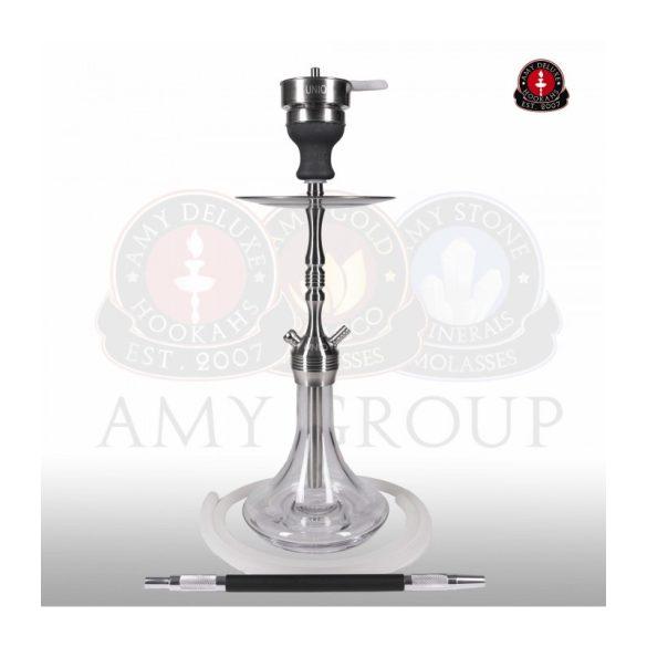 Amy Deluxe 002.02 UNIO vízipipa - Clear