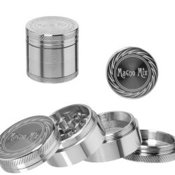 Magno Mix grinder - Ø:40mm - 4 részes - ezüst