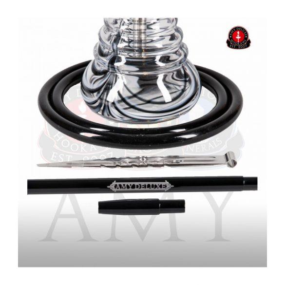 Amy Deluxe 440 Stillness vízipipa - Black